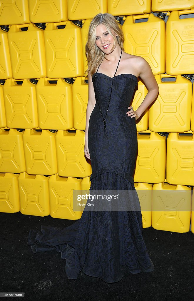 Maggie Grace attends the 8th annual charity: ball Gala at the Duggal Greenhouse on December 16, 2013 in the Brooklyn borough of New York City.
