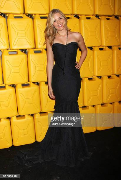 Maggie Grace attends the 8th annual charity ball Gala at the Duggal Greenhouse on December 16 2013 in the Brooklyn borough of New York City