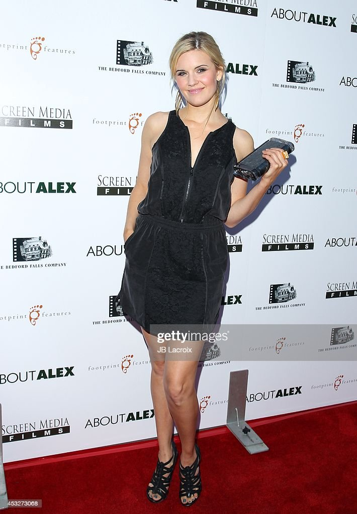 <a gi-track='captionPersonalityLinkClicked' href=/galleries/search?phrase=Maggie+Grace&family=editorial&specificpeople=213706 ng-click='$event.stopPropagation()'>Maggie Grace</a> attends the 'About Alex' Los Angeles premiere held at the Arclight Theater on August 6, 2014 in Hollywood, California.