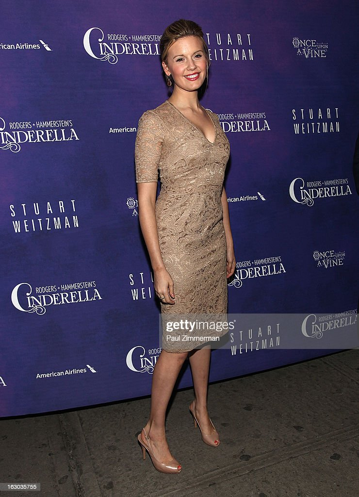 Maggie Grace attends the 'Cinderella' Broadway Opening Night at Broadway Theatre on March 3, 2013 in New York City.