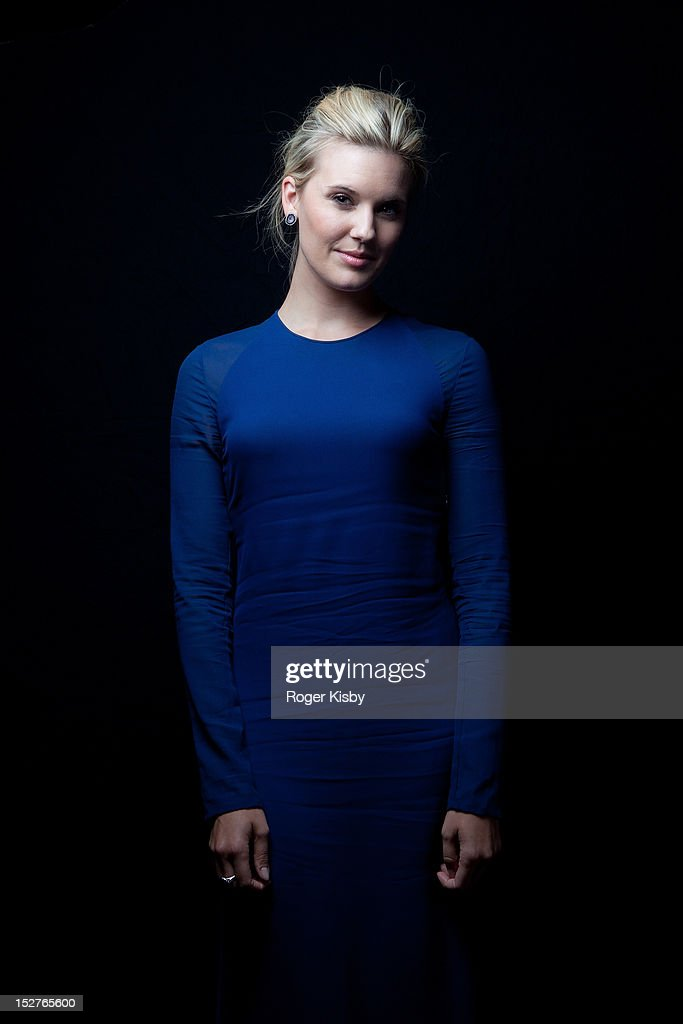Maggie Grace poses for a portrait backstage at vitaminwater Fader uncapped at the The Angel Orensanz Foundation on September 24, 2012 in New York City.