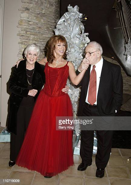 Maggie Griffin Kathy Griffin and John Griffin during Kathy Griffin's 2005 'Toys for Tots' Christmas Bash at Private Residence in Los Angeles...