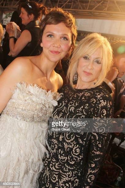 Maggie Gyllenhaal and Judith Light attend the American Theatre Wing's 68th Annual Tony Awards at Radio City Music Hall on June 8 2014 in New York City