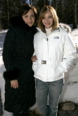 Maggie Gyllenhaal and Lisa Kudrow with the North Face *exclusive*