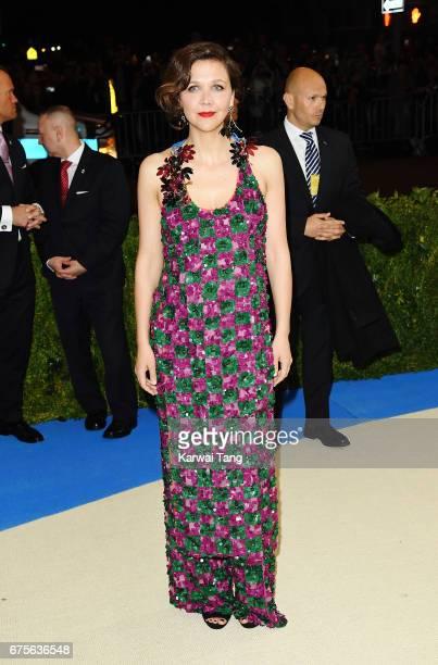 Maggie Gyllenhaal attends 'Rei Kawakubo/Comme des Garcons Art Of The InBetween' Costume Institute Gala at Metropolitan Museum of Art on May 1 2017 in...