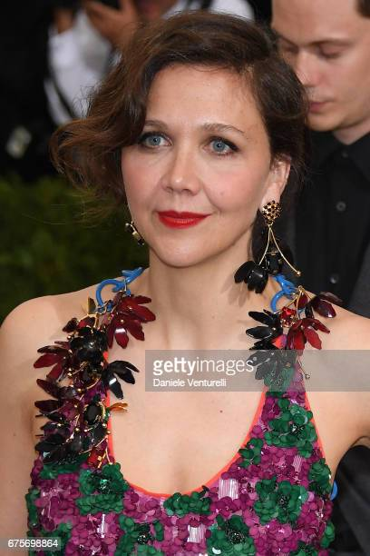 Maggie Gyllenhaal attends 'Rei Kawakubo/Comme des Garcons Art Of The InBetween' Costume Institute Gala Arrivals at Metropolitan Museum of Art on May...
