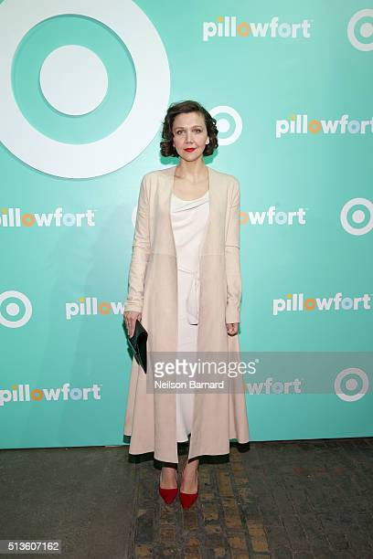 Maggie Gyllenhaal attends Target Pillowfort launch party at Highline Stages on March 3 2016 in New York City