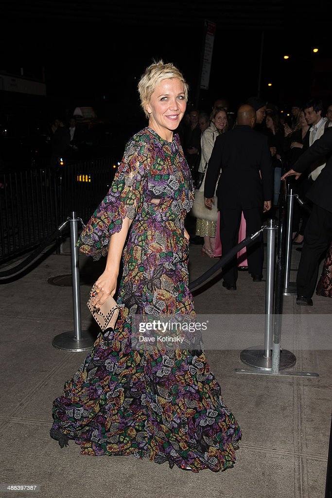 Maggie Gyllenhaal attends the 'Charles James: Beyond Fashion' Costume Institute Gala After Party>> at the The Standard Hotel on May 5, 2014 in New York City.