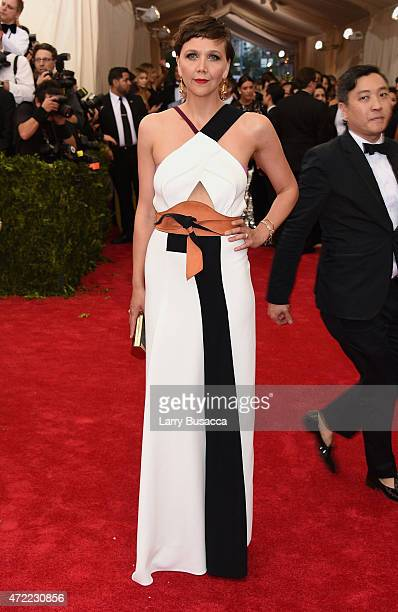 Maggie Gyllenhaal attends the 'China Through The Looking Glass' Costume Institute Benefit Gala at the Metropolitan Museum of Art on May 4 2015 in New...