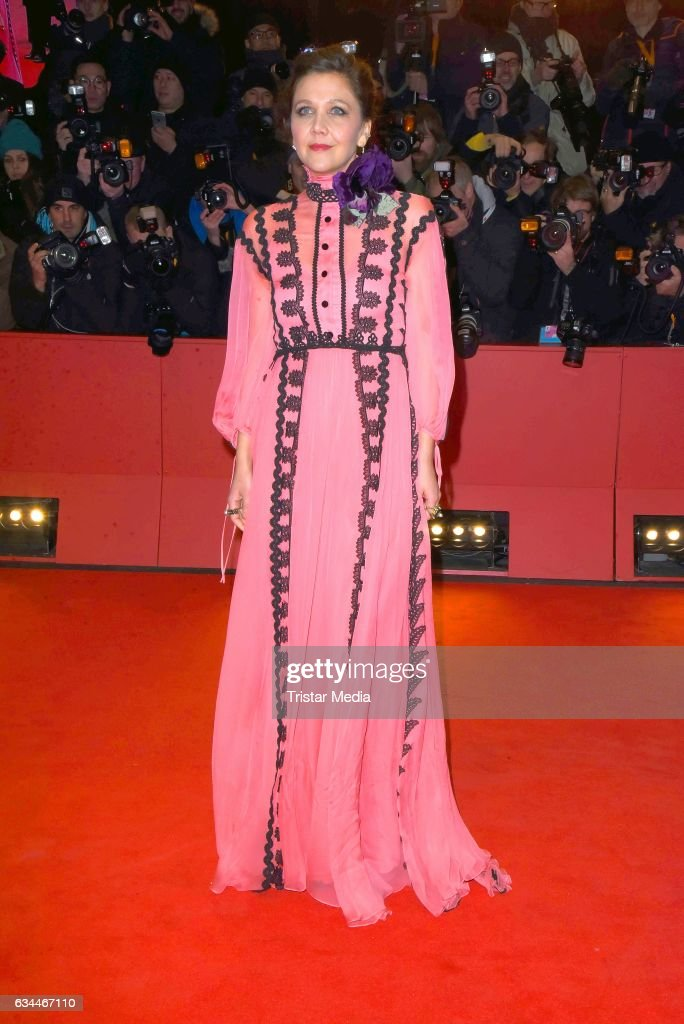 Maggie Gyllenhaal attends the 'Django' Premiere during the 67th Berlinale International Film Festival on February 9, 2017 in Berlin, Germany.