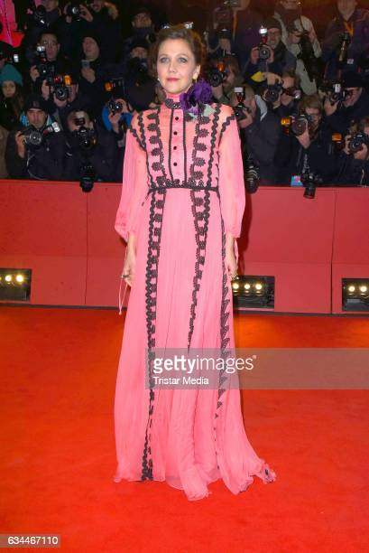 Maggie Gyllenhaal attends the 'Django' Premiere during the 67th Berlinale International Film Festival on February 9 2017 in Berlin Germany