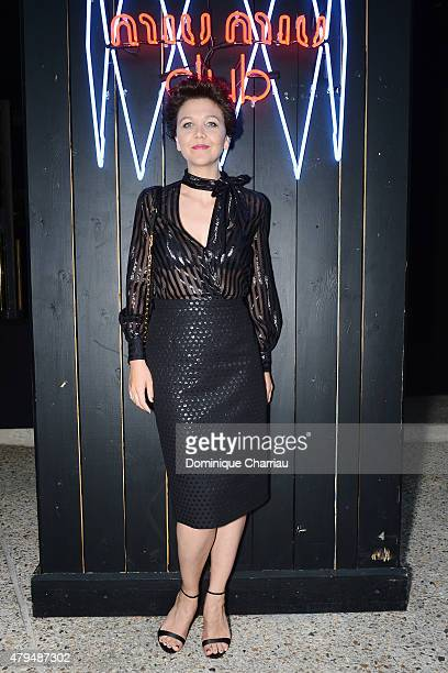 Maggie Gyllenhaal attends the Miu Miu Club Launch Of the First Miu Miu Fragrance And Croisiere 2016 Collection at Palais d'Iena on July 4 2015 in...