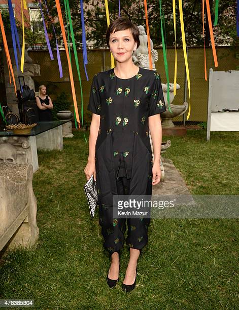 Maggie Gyllenhaal attends the Stella McCartney Spring 2016 Resort Presentation on June 8 2015 in New York City