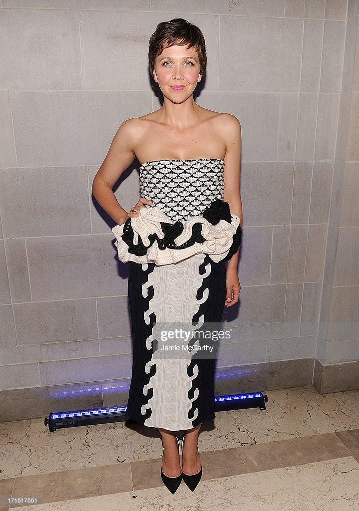 Maggie Gyllenhaal attends 'White House Down' New York Premiere at on June 25, 2013 in New York City.