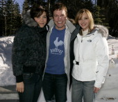 Maggie Gyllenhaal Don Roos director and Lisa Kudrow with the North Face *exclusive*