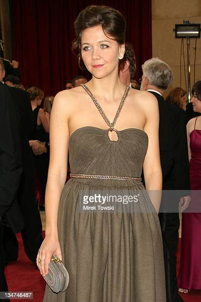 Maggie Gyllenhaal during The 78th Annual Academy Awards Arrivals at Kodak Theatre in Hollywood California United States