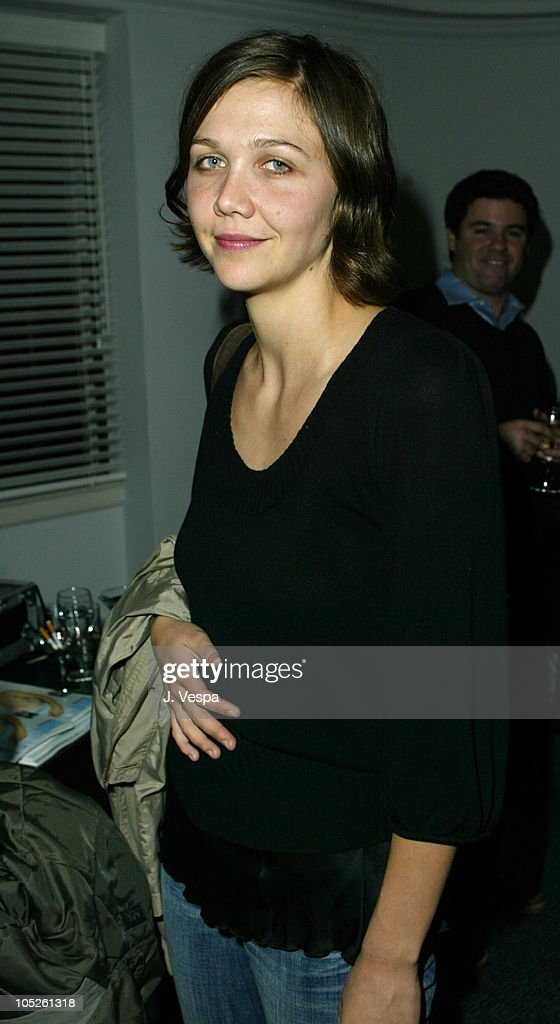 <a gi-track='captionPersonalityLinkClicked' href=/galleries/search?phrase=Maggie+Gyllenhaal&family=editorial&specificpeople=202607 ng-click='$event.stopPropagation()'>Maggie Gyllenhaal</a> during 'The Heart is Deceitful Above All Things' Wrap Party at Chateau Marmont in Los Angeles, California, United States.