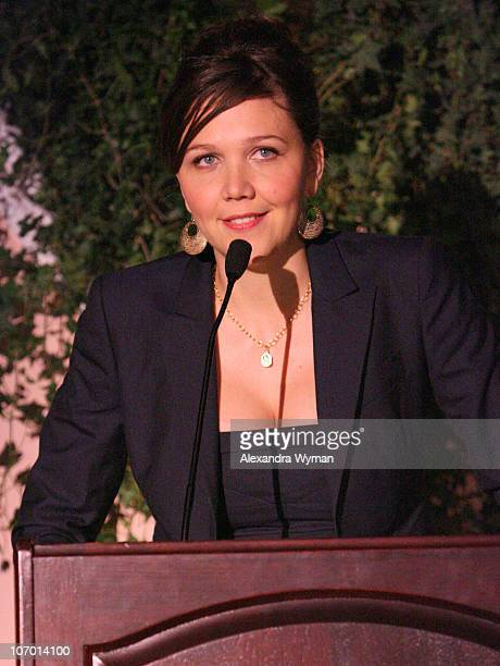 Maggie Gyllenhaal during The Hollywood Reporter's 15th Annual Women in Entertainment Breakfast Sponsored by Lifetime Television Inside at Beverly...