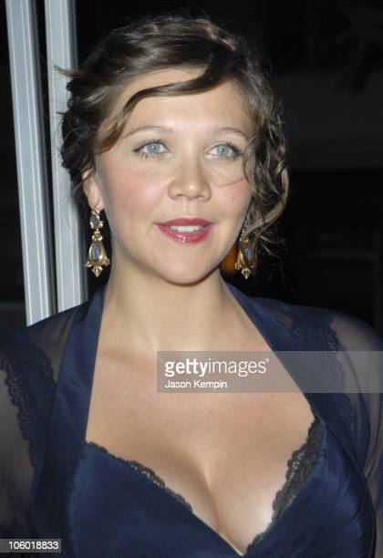 Maggie Gyllenhaal during 'World Trade Center' New York Premiere Arrivals at The Ziegfeld Theatre in New York New York United States