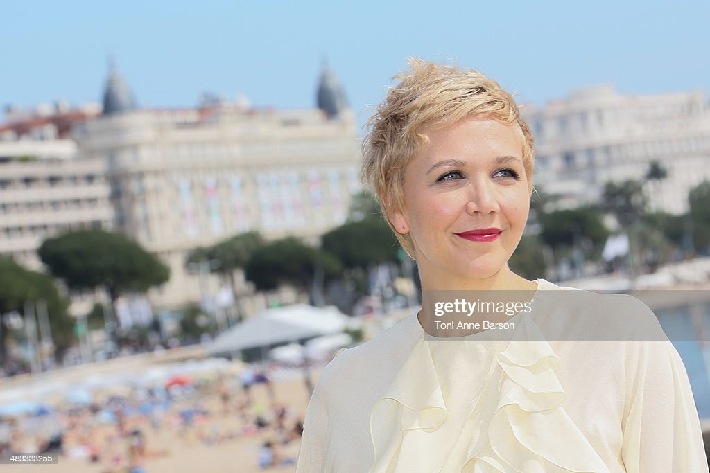 <a gi-track='captionPersonalityLinkClicked' href=/galleries/search?phrase=Maggie+Gyllenhaal&family=editorial&specificpeople=202607 ng-click='$event.stopPropagation()'>Maggie Gyllenhaal</a>l attends photocall for 'Honourable Woman' at MIPTV 2014 at Hotel Majestic Jetty on April 7, 2014 in Cannes, France.