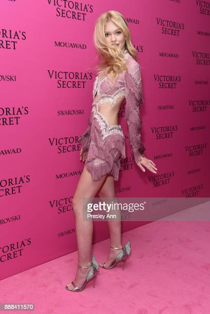 Maggie Laine attends 2017 Victoria's Secret Fashion Show In Shanghai After Party at MercedesBenz Arena on November 20 2017 in Shanghai China