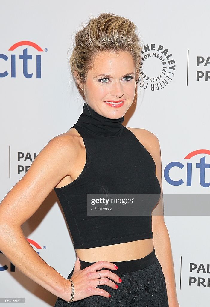 Maggie Lawson attends the 2013 PaleyFestPreviews: Fall TV - ABC held at The Paley Center for Media on September 10, 2013 in Beverly Hills, California.