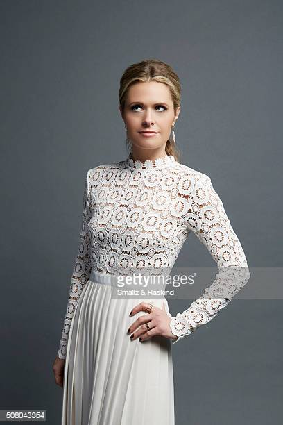 Maggie Lawson poses for a portrait at the 2016 People's Choice Awards at the Microsoft Theater on January 6 2016 in Los Angeles California