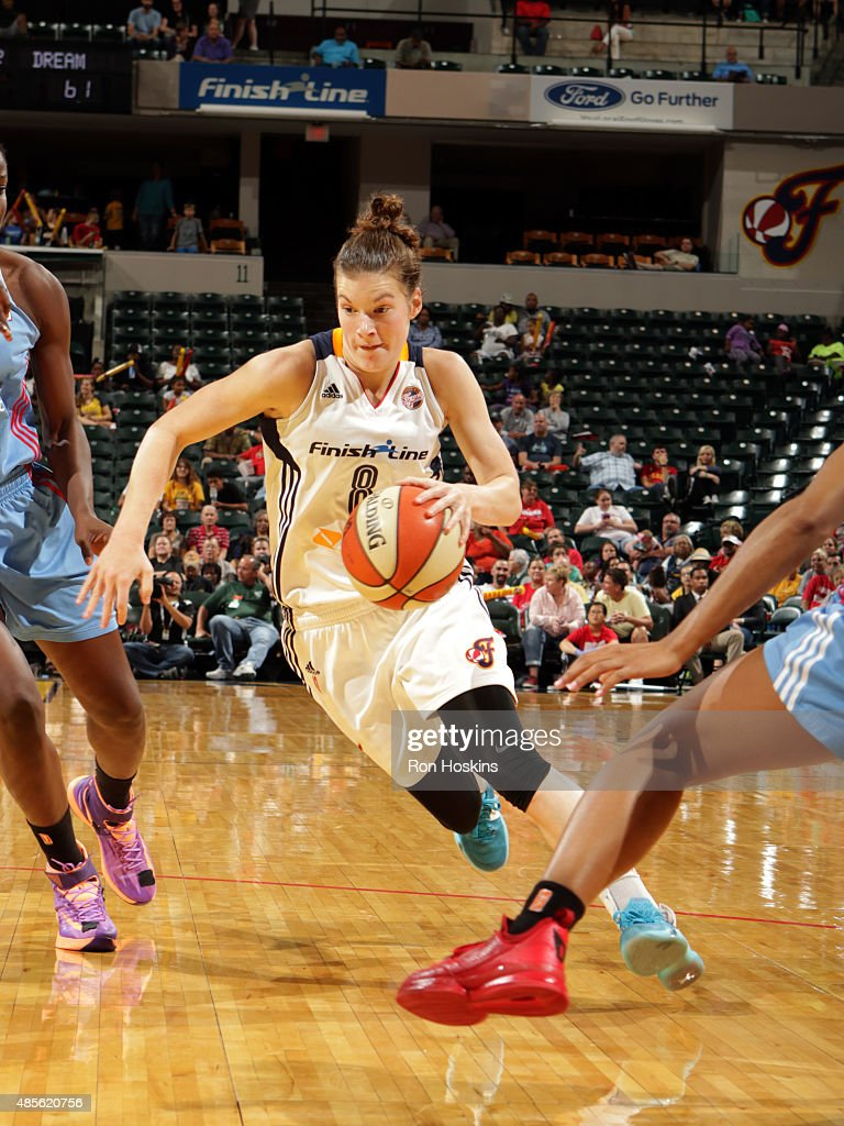 <a gi-track='captionPersonalityLinkClicked' href=/galleries/search?phrase=Maggie+Lucas&family=editorial&specificpeople=7449966 ng-click='$event.stopPropagation()'>Maggie Lucas</a> #8 of the Indiana Fever drives to the basket against the Atlanta Dream on August 28, 2015 in Indianapolis, Indiana.