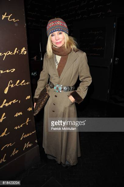 Maggie Norris attends American Red Cross Concern Worldwide and The Edeyo Foundation Fundraiser at 1 OAK on January 21 2010 in New York City