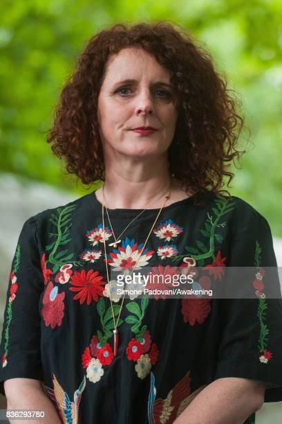 Maggie O'Farrell attends a photocall during the Edinburgh International Book Festival on August 21 2017 in Edinburgh Scotland