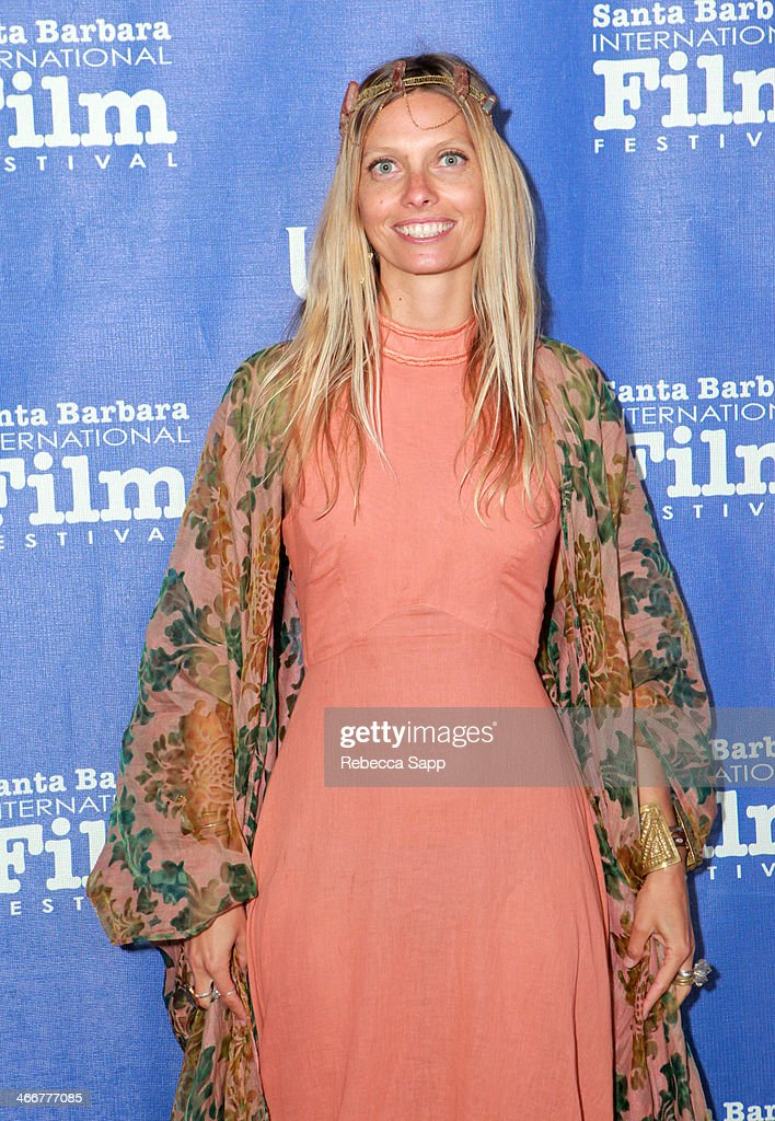 Maggie Orly attends a screening of 'Bella Vita ' at the Arlington Theater at the 29th Santa Barbara International Film Festival on February 3, 2014 in Santa Barbara, California.