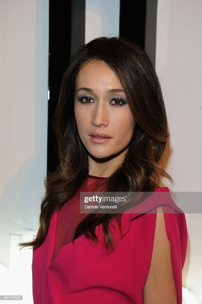 Maggie Q attends 'Greta Garbo. The Mystery Of Style' opening exhibition during Milan Fashion Week Womenswear A/W 2010 on February 27, 2010 in Milan, Italy.