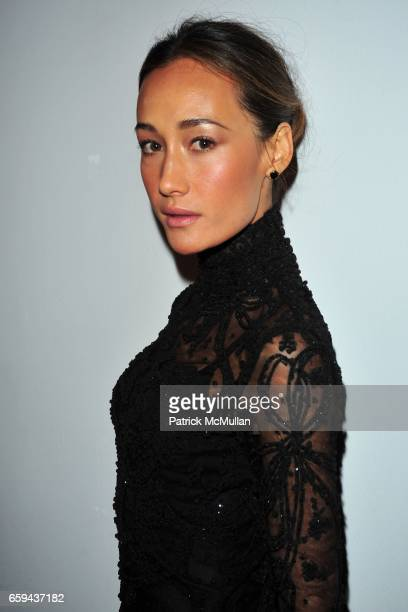 Maggie Q attends MARCHESA Spring 2010 Collection Presentation at Chelsea Art Museum on September 16 2009 in New York City