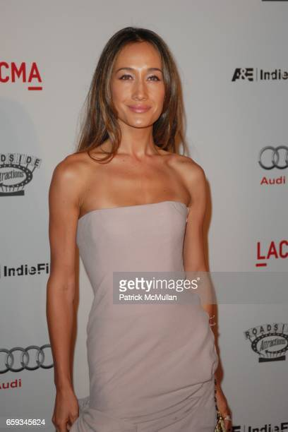 Maggie Q attends THE SEPTEMBER ISSUE SPECIAL SCREENING AT LACMA at Los Angeles County Museum of Art on September 8 2009 in Los Angeles California