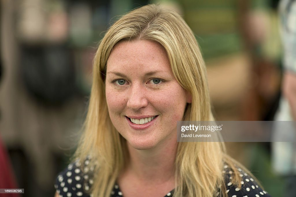 Maggie Shipstead, writer and winner of the 2012 Dylan Thomas Prize, attends The Telegraph Hay festival at Dairy Meadows on May 26, 2013 in Hay-on-Wye, Wales.