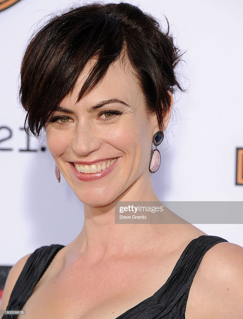 <a gi-track='captionPersonalityLinkClicked' href=/galleries/search?phrase=Maggie+Siff&family=editorial&specificpeople=4407086 ng-click='$event.stopPropagation()'>Maggie Siff</a> arrives at the FX's 'Sons Of Anarchy' Season 6 Premiere Screening at Dolby Theatre on September 7, 2013 in Hollywood, California.