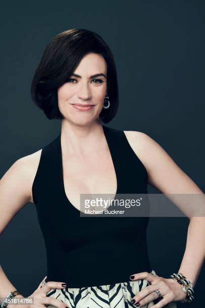 Maggie Siff poses for a portrait at the Critics' Choice Awards 2014 on June 19 2014 in Beverly Hills California