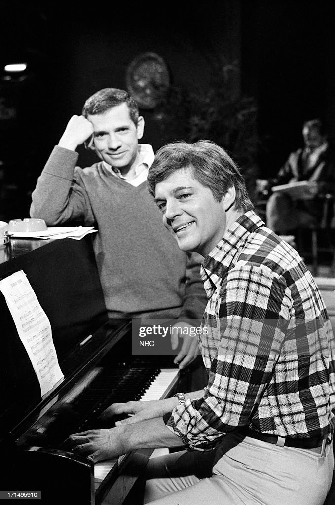 LIVES -- 'Maggie Simmons [Horton] Operation' -- Pictured: (l-r) Robert Clary as Robert LeClair, Bill Hayes as Doug Williams --