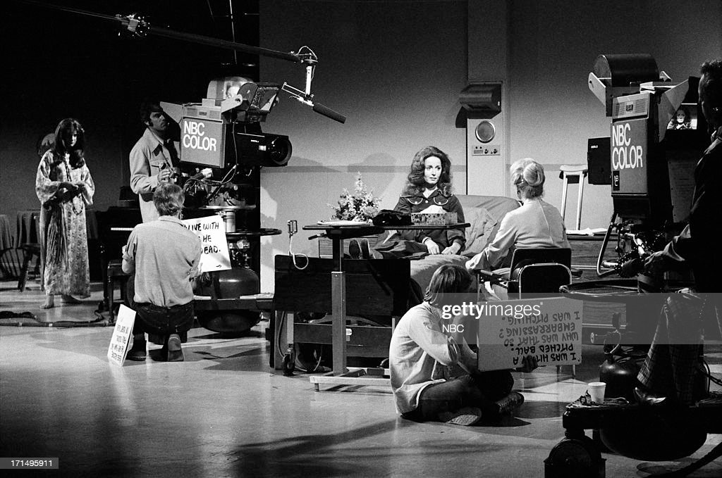 LIVES -- 'Maggie Simmons [Horton] Operation' -- Pictured: Suzanne Rogers (in bed) with crew --