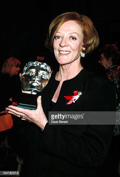 Maggie Smith 1993 Bafta Awards Maggiesmithretro