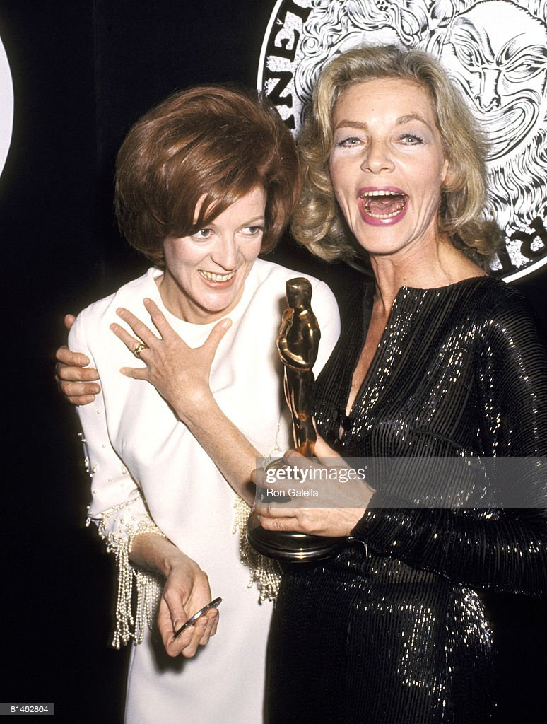 <a gi-track='captionPersonalityLinkClicked' href=/galleries/search?phrase=Maggie+Smith&family=editorial&specificpeople=206821 ng-click='$event.stopPropagation()'>Maggie Smith</a> and <a gi-track='captionPersonalityLinkClicked' href=/galleries/search?phrase=Lauren+Bacall&family=editorial&specificpeople=91371 ng-click='$event.stopPropagation()'>Lauren Bacall</a>