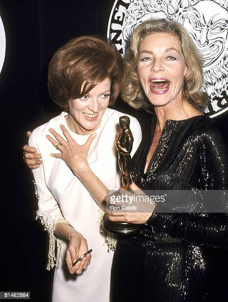 Maggie Smith and Lauren Bacall