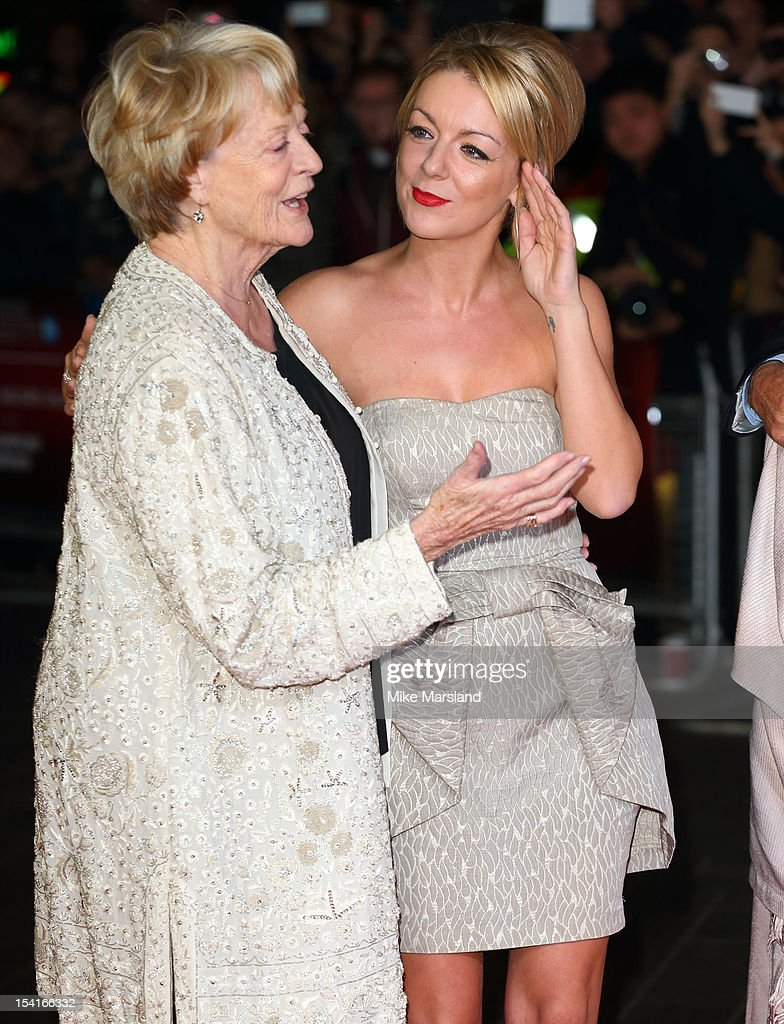 <a gi-track='captionPersonalityLinkClicked' href=/galleries/search?phrase=Maggie+Smith&family=editorial&specificpeople=206821 ng-click='$event.stopPropagation()'>Maggie Smith</a> and <a gi-track='captionPersonalityLinkClicked' href=/galleries/search?phrase=Sheridan+Smith&family=editorial&specificpeople=4159304 ng-click='$event.stopPropagation()'>Sheridan Smith</a> attend the Premiere of 'Quartet' during the 56th BFI London Film Festival at Odeon Leicester Square on October 15, 2012 in London, England.