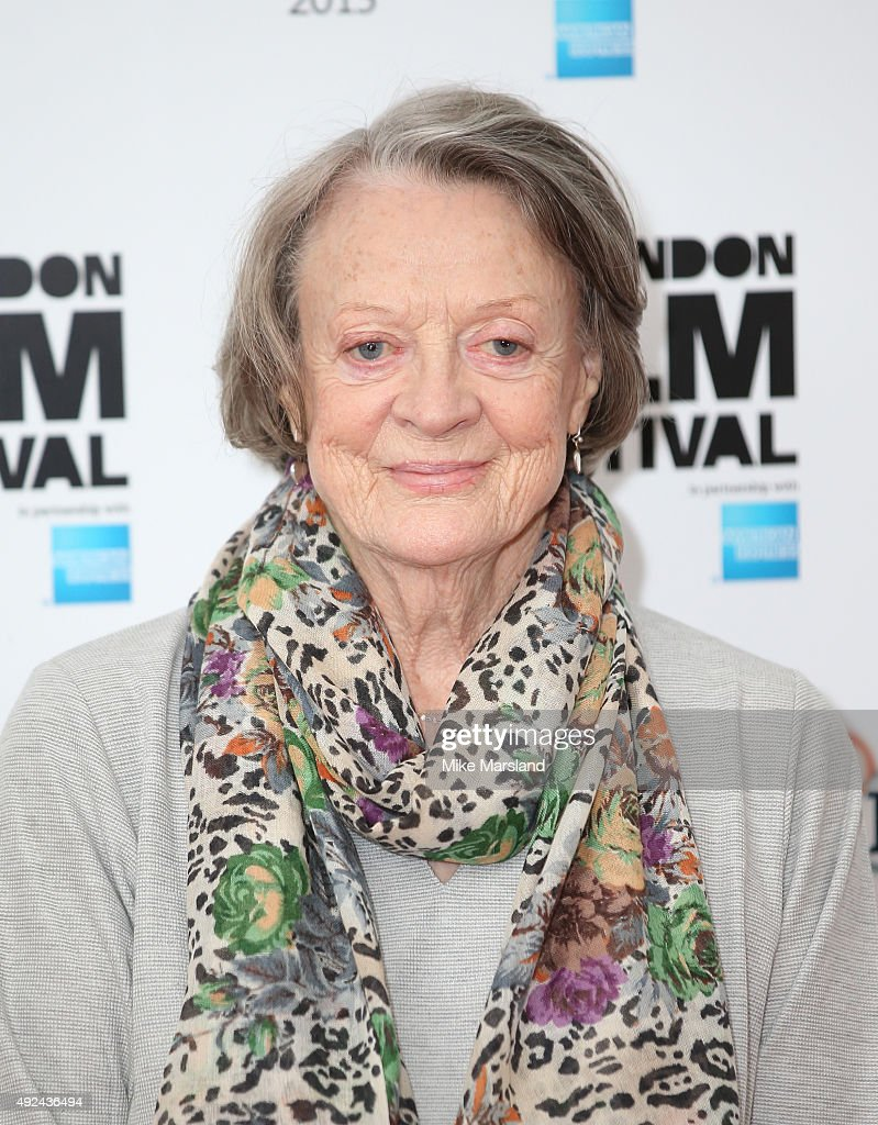 <a gi-track='captionPersonalityLinkClicked' href=/galleries/search?phrase=Maggie+Smith&family=editorial&specificpeople=206821 ng-click='$event.stopPropagation()'>Maggie Smith</a> attends a photocall for 'The Lady In The Van' during the BFI London Film Festival at May Fair Hotel on October 13, 2015 in London, England.
