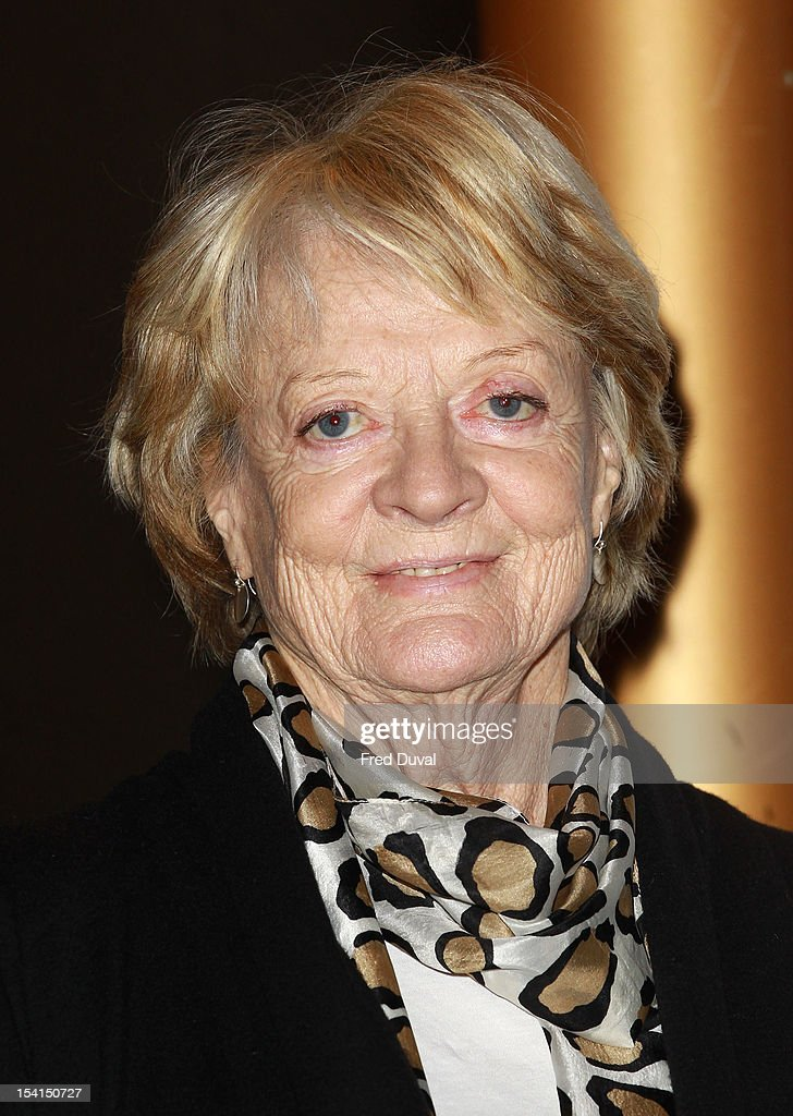 Maggie Smith attends the Photocall for 'Quartet' at the BFI London Film Festival at Empire Leicester Square on October 15, 2012 in London, England.