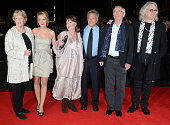 Maggie Smith Sheridan Smith Pauline Collins Dustin Hoffman Tom Courtenay and Billy Connolly attend the premiere of Quartet at The BFI London Film...