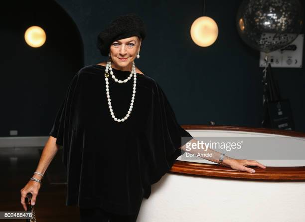 Maggie Tabberer arrives ahead of The Harry M Miller Group 20th Anniversary Party on June 28 2017 in Sydney Australia