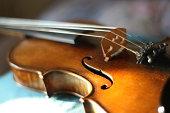Maggini's violin with beautiful sound