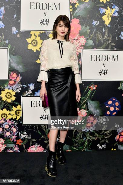 Maggy Moon at HM x ERDEM Runway Show Party at The Ebell Club of Los Angeles on October 18 2017 in Los Angeles California