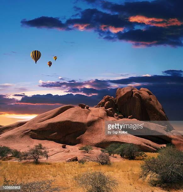 Magic balloon ride